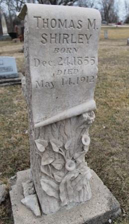 SHIRLEY, THOMAS M. - Lee County, Iowa   THOMAS M. SHIRLEY