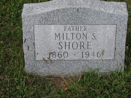 SHORE, MILTON - Lee County, Iowa | MILTON SHORE