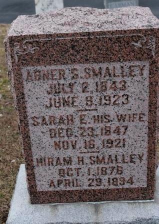 SMALLEY, SARAH E. - Lee County, Iowa   SARAH E. SMALLEY
