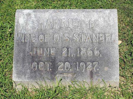 STANBRO, HARRIET B. - Lee County, Iowa | HARRIET B. STANBRO