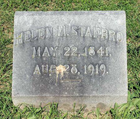 STANBRO, HELEN M. - Lee County, Iowa | HELEN M. STANBRO