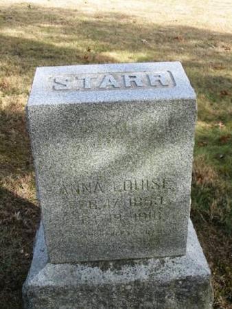 STARR, ANNA LOUISE - Lee County, Iowa | ANNA LOUISE STARR