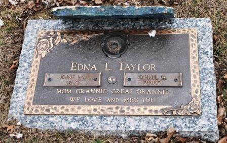 TAYLOR, EDNA L. - Lee County, Iowa | EDNA L. TAYLOR
