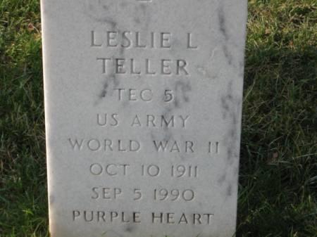 TELLER, LESLIE  L. - Lee County, Iowa | LESLIE  L. TELLER