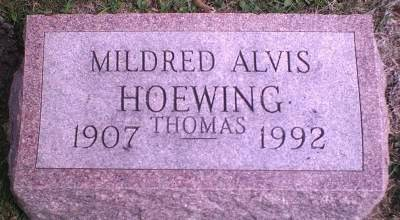 HOEWING THOMAS, MILDRED AVIS - Lee County, Iowa | MILDRED AVIS HOEWING THOMAS