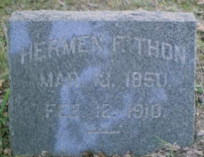 THON, HERMEN F. - Lee County, Iowa | HERMEN F. THON