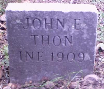 THON, JOHN E. - Lee County, Iowa | JOHN E. THON