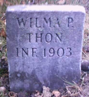 THON, WILMA P. - Lee County, Iowa | WILMA P. THON