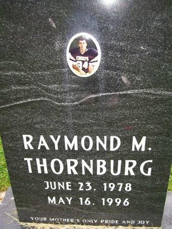 THORNBURG, RAYMOND M. - Lee County, Iowa   RAYMOND M. THORNBURG