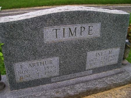 TIMPE, INEZ M. - Lee County, Iowa | INEZ M. TIMPE