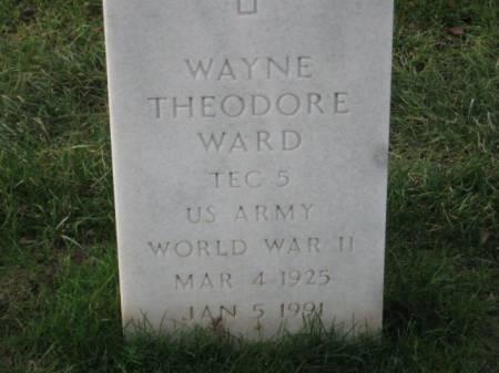 WARD, WAYNE THEODORE - Lee County, Iowa | WAYNE THEODORE WARD