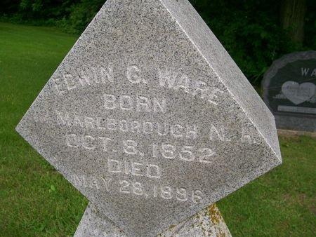 WARE, EDWIN CHAPIN - Lee County, Iowa   EDWIN CHAPIN WARE