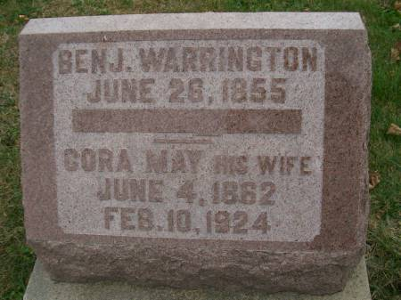 WARRINGTON, BENJ. - Lee County, Iowa | BENJ. WARRINGTON