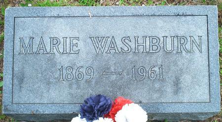 WASHBURN, MARIE - Lee County, Iowa | MARIE WASHBURN