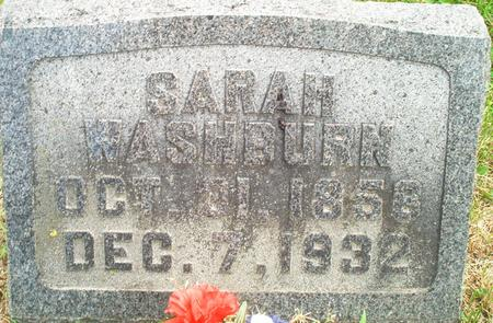 WASHBURN, SARAH - Lee County, Iowa | SARAH WASHBURN