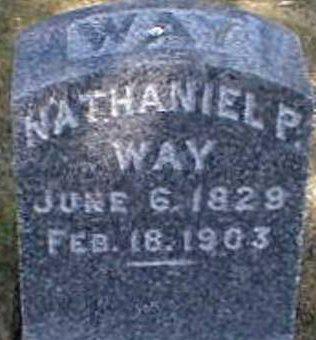 WAY, NATHANIEL P. - Lee County, Iowa   NATHANIEL P. WAY