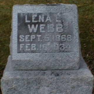 WEBB, LENA E. - Lee County, Iowa | LENA E. WEBB