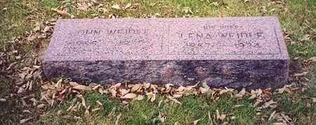 WEIDLE, LENA - Lee County, Iowa | LENA WEIDLE