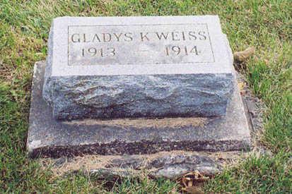 WEISS, GLADYS - Lee County, Iowa | GLADYS WEISS