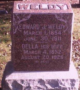 WELDY, EDWARD J. - Lee County, Iowa   EDWARD J. WELDY