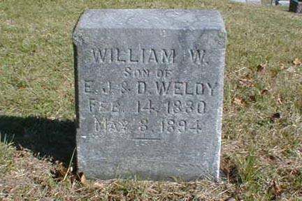 WELDY, WILLIAM W. - Lee County, Iowa | WILLIAM W. WELDY