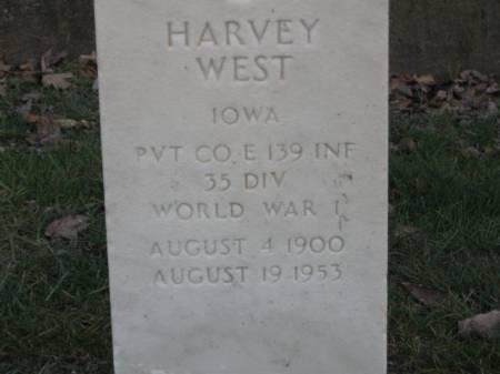 WEST, HARVEY - Lee County, Iowa | HARVEY WEST