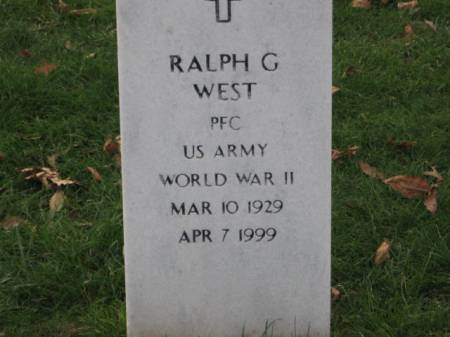 WEST, RALPH  G. - Lee County, Iowa | RALPH  G. WEST