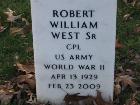 WEST, SR., ROBERT WILLIAM - Lee County, Iowa   ROBERT WILLIAM WEST, SR.