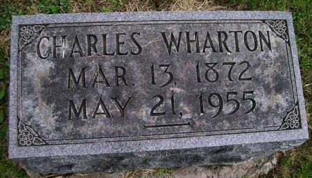 WHARTON, CHARLES - Lee County, Iowa | CHARLES WHARTON