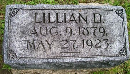 WHARTON, LILLIAN D. - Lee County, Iowa | LILLIAN D. WHARTON