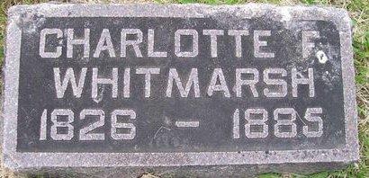 FOX WHITMARSH, CHARLOTTE F. - Lee County, Iowa | CHARLOTTE F. FOX WHITMARSH