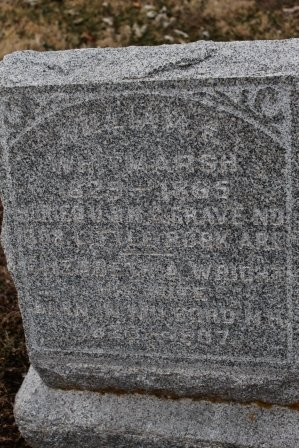 WRIGHT WHITMARTSH, ELIZABETH ANN - Lee County, Iowa | ELIZABETH ANN WRIGHT WHITMARTSH