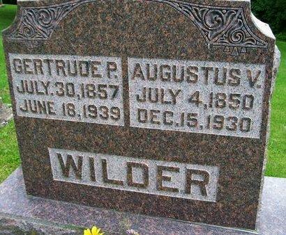 WILDER, AUGUSTUS V. - Lee County, Iowa | AUGUSTUS V. WILDER