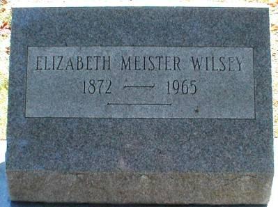 MEISTER WILSEY, ELIZABETH - Lee County, Iowa | ELIZABETH MEISTER WILSEY