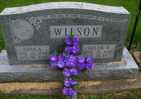 WILSON, EDNA A - Lee County, Iowa | EDNA A WILSON
