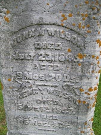 WILSON, JOHN M. - Lee County, Iowa | JOHN M. WILSON