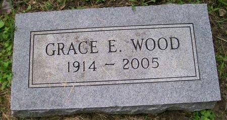 WOOD, GRACE E. - Lee County, Iowa   GRACE E. WOOD
