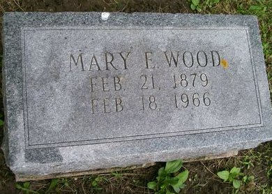 WOOD, MARY E. - Lee County, Iowa | MARY E. WOOD