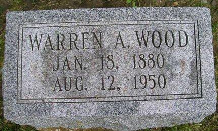 WOOD, WARREN A. - Lee County, Iowa | WARREN A. WOOD