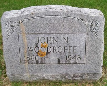 WOODROFFE, JOHN N. - Lee County, Iowa   JOHN N. WOODROFFE