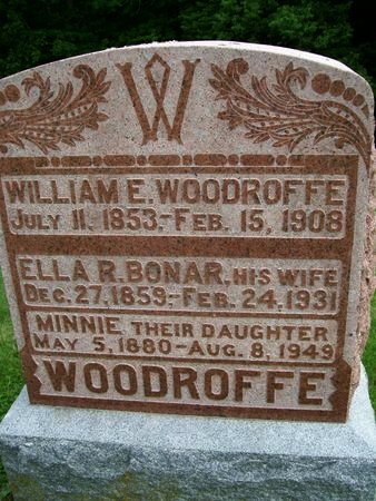 WOODROFFE, MINNIE - Lee County, Iowa | MINNIE WOODROFFE