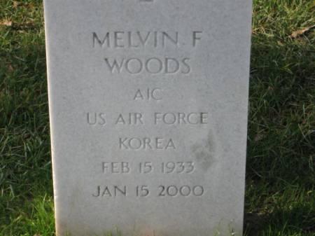WOODS, MELVIN   F. - Lee County, Iowa | MELVIN   F. WOODS