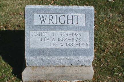 WRIGHT, LEE W. - Lee County, Iowa | LEE W. WRIGHT