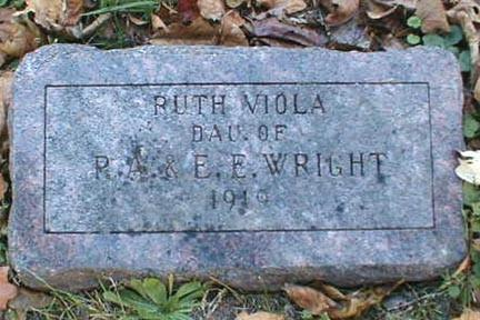 WRIGHT, RUTH VIOLA - Lee County, Iowa | RUTH VIOLA WRIGHT