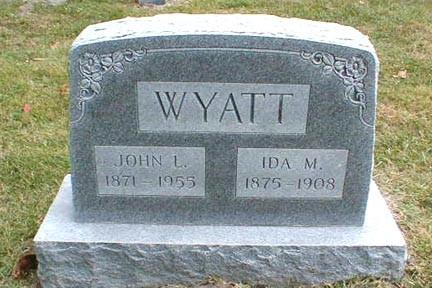 WYATT, IDA MAE - Lee County, Iowa   IDA MAE WYATT