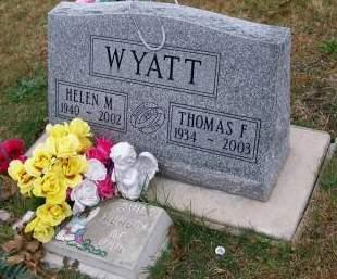 WYATT, HELEN M. - Lee County, Iowa | HELEN M. WYATT