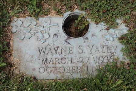 YALEY, WAYNE S. - Lee County, Iowa | WAYNE S. YALEY