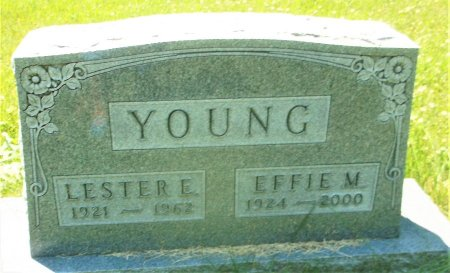 YOUNG, LESTER E. - Lee County, Iowa   LESTER E. YOUNG