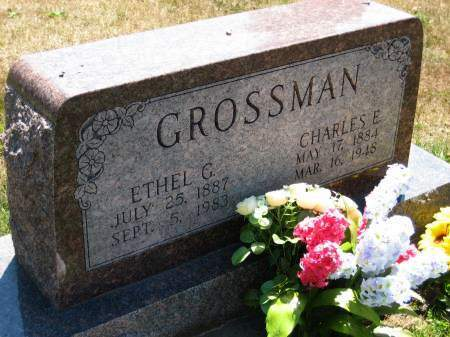GOODY GROSSMAN, ETHEL G. - Lee County, Iowa | ETHEL G. GOODY GROSSMAN