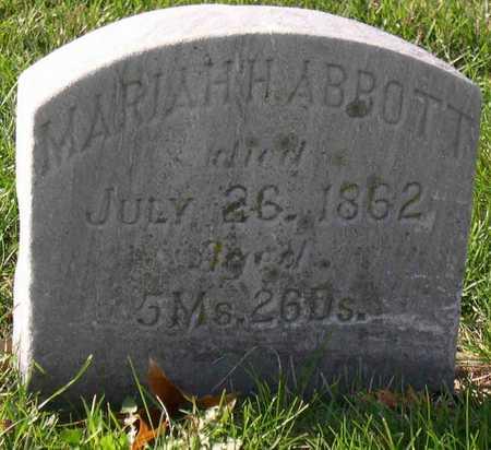 ABBOTT, MARIAH H. - Linn County, Iowa | MARIAH H. ABBOTT